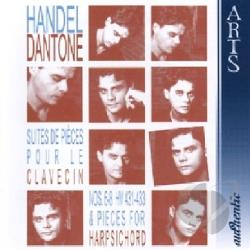 Dantone, Ottavio - Handel: Suites de Pieces pour le Clavecin, Vol. 2 CD Cover Art
