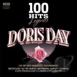 Day, Doris - 100 Hits Legends CD Cover Art