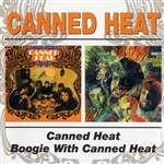 Canned Heat - Canned Heat/Boogie With Canned Heat DB Cover Art