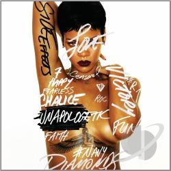 Rihanna 2 - Unapologetic CD Cover Art