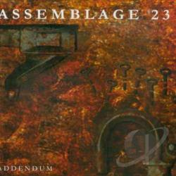 Assemblage 23 - Addendum CD Cover Art
