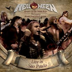 Helloween - Keeper of the Seven Keys: The Legacy World Tour 2005/2006 CD Cover Art