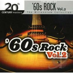 Best Of 60's Rock Vol 2 CD Cover Art