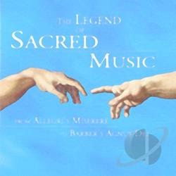 Legend of Sacred Music CD Cover Art