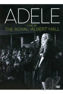 Adele - Live at the Royal Albert Hall CD Cover Art