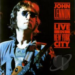 Lennon, John - Live in New York City CD Cover Art