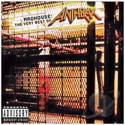 Anthrax - Madhouse: The Very Best of Anthrax CD Cover Art