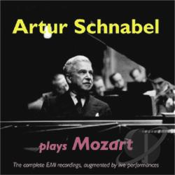 Mozart / Schnabel - Artur Schnabel plays Mozart CD Cover Art