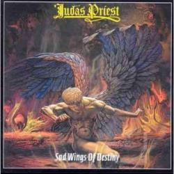 Judas Priest - Sad Wings of Destiny LP Cover Art