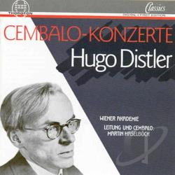 Distler, H. - Hugo Distler: Cembalo-Konzerte CD Cover Art