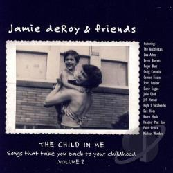 DeRoy, Jamie - Child in Me, Vol. 2 CD Cover Art