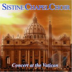 Sistine Chapel Choir - Concert at the Vatican CD Cover Art