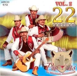 Los Pumas De Huetamo - Vol. 2 - 22 Corridos CD Cover Art