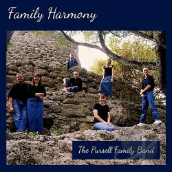 Pursell Family Band - Family Harmony CD Cover Art