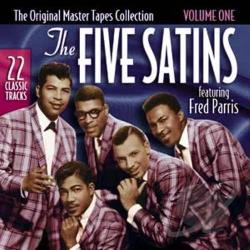 Five Satins - Original Master Tapes Collection, Vol. 1 CD Cover Art