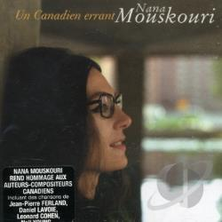 Mouskouri, Nana - Nana un Canadien Errant CD Cover Art