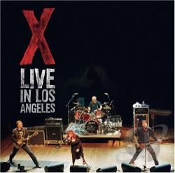 X - Live in Los Angeles CD Cover Art