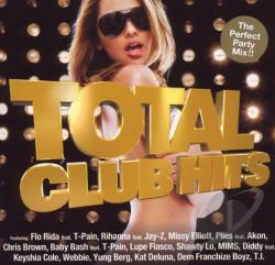Total Club Hits CD Cover Art