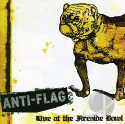 Anti-Flag - Live At The Fireside Bowl CD Cover Art