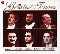 Tenors - Greatest Tenors CD Cover Art