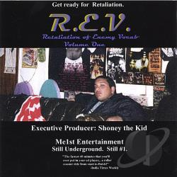 Rev - Retaliation of Enemy Vocabulary, Vol. 1 CD Cover Art