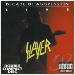 Slayer - Decade of Aggression: Live CD Cover Art