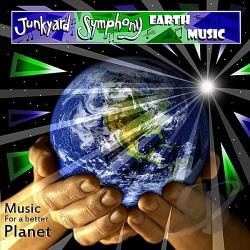 Junkyard Symphony - Earth Music CD Cover Art
