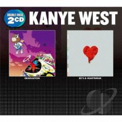 Kanye West (Rap) - Graduation/808S & Heartbreak CD Cover Art