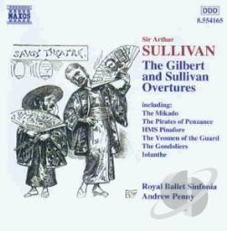 Sullivan - Gilbert and Sullivan Overtures CD Cover Art
