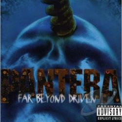 Pantera - Far Beyond Driven CD Cover Art