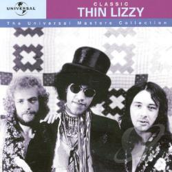 Thin Lizzy - Classic Thin Lizzy: The Universal Master Collection CD Cover Art