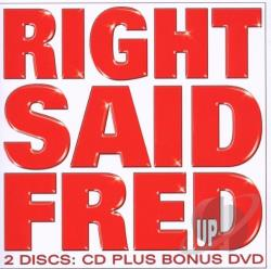 Right Said Fred - Up CD Cover Art