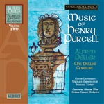 Deller, Alfred - Music of Henry Purcell CD Cover Art