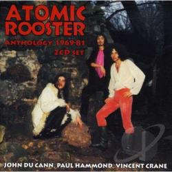 Atomic Rooster - Anthology 1969-81 CD Cover Art