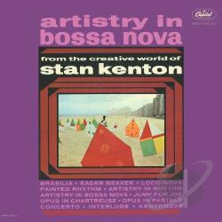 Kenton, Stan - Artistry in Bossa Nova CD Cover Art