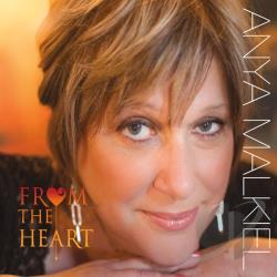 Anya Malkiel - From the Heart CD Cover Art