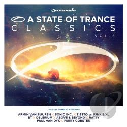 Van Buuren, Armin - State of Trance Classics 8 CD Cover Art