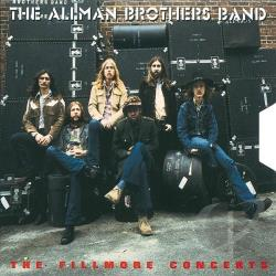 Allman Brothers Band - Fillmore Concerts CD Cover Art