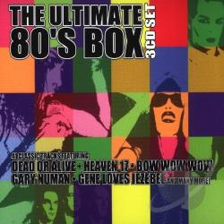 Ultimate 80's Box CD Cover Art