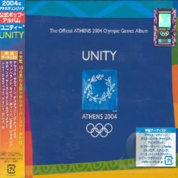 Unity: The Official Athens 2004 Olympic Games Album CD Cover Art