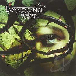 Evanescence - Anywhere But Home CD Cover Art