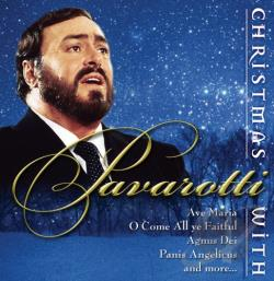 Pavarotti, Luciano - Christmas With Pavarotti CD Cover Art