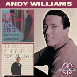 Williams, Andy - Lonely Street/The Village of St. Bernadette CD Cover Art