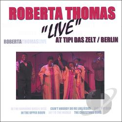 Thomas, Roberta - Live in Berlin CD Cover Art