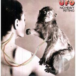 U.F.O. - No Heavy Petting LP Cover Art