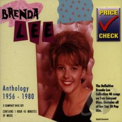 Lee, Brenda - Anthology (1956-1980) CD Cover Art