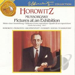 Horowitz, Vladimir - Horowitz Plays Mussorgsky, Scriabin, Prokofiev, and others CD Cover Art