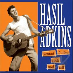 Adkins, Hasil - Peanut Butter Rock N Roll CD Cover Art