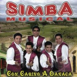 Simba Musical - Con Carino A Oaxaca CD Cover Art