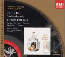 Barbirolli Sir John / Groc - Puccini: Madama Butterfly CD Cover Art